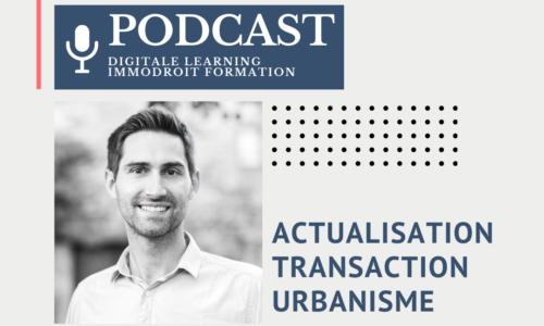 Actualisation Transaction Urbanisme